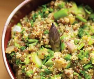risotto de quinoa y verduras